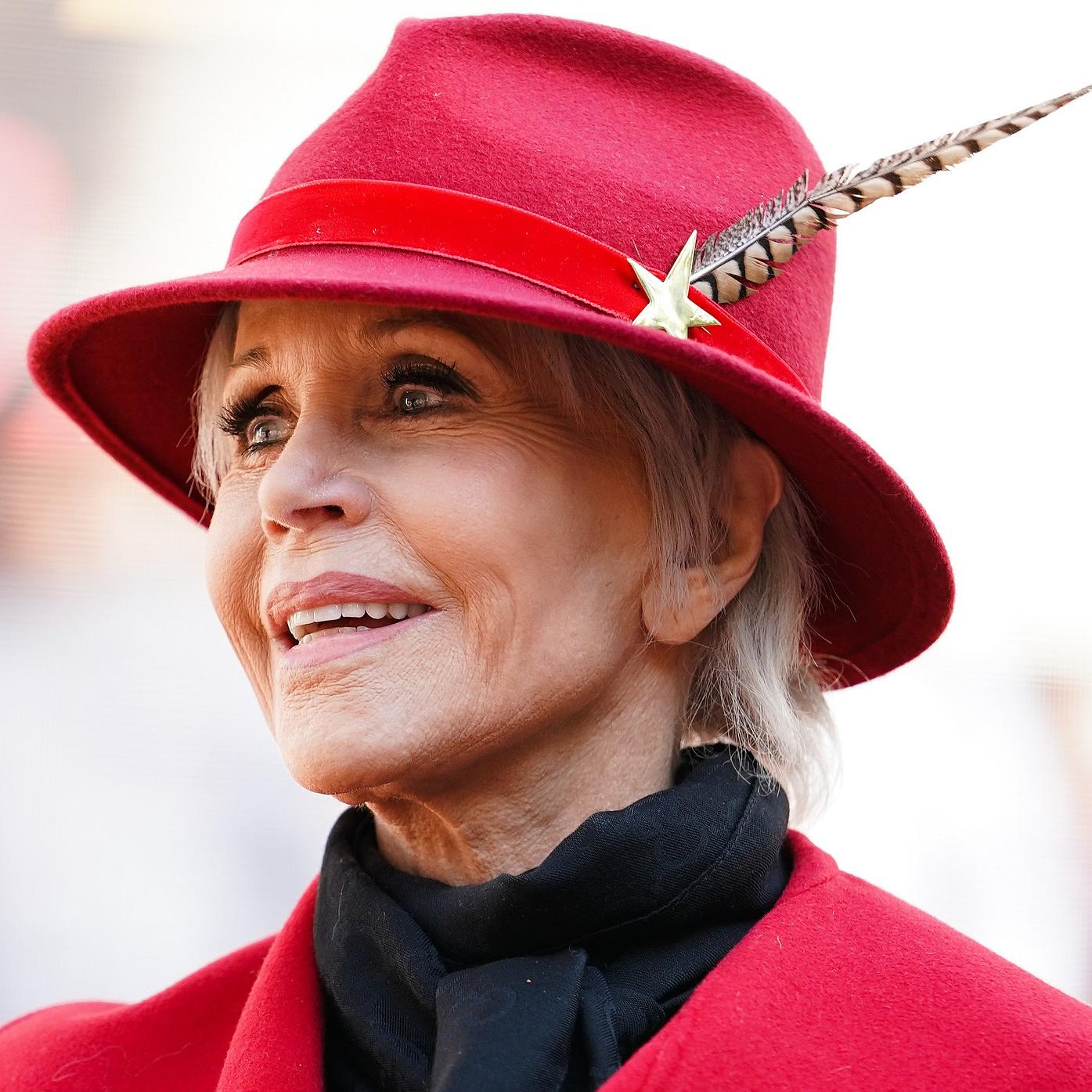 Jane Fonda kapja az életműdíjat az idei Golden Globe-on
